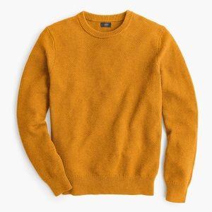 Men's J. Crew Cotton Moss Stitch Sweater